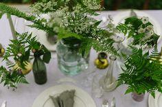 Vintage Garden Parties, Garden Party Wedding, Wedding Decorations, Table Decorations, Handfasting, Ol Days, Greenery, Flower Arrangements, Glass Vase