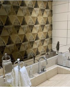 Metallic gold tones warm up modern wallpaper and add a touch of luxury to easily elevate any space. Gold Wallpaper, Modern Wallpaper, Golden Life, Gold Pattern, Metallic Gold, Warm, Touch, Wall Art, Space