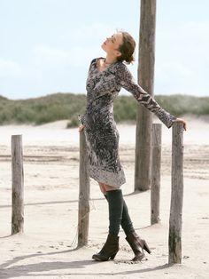 Chiffon Dress sewing pattern available on BurdaStyle