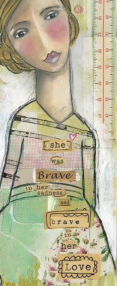 She was brave in her sadness and brave in her love #brave # Iwanttobethis