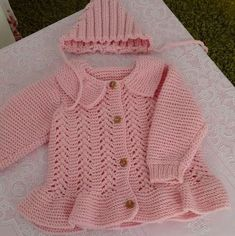 Baby Strickmantel Strickjacke Mütze [] # # # # section of information related to. Knit Baby Sweaters, Knitted Baby Blankets, Girls Sweaters, Baby Cardigan Knitting Pattern, Baby Knitting Patterns, Baby Patterns, Crochet Patterns, Knitting Blogs, Hand Knitting