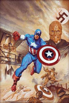 Captain America by Joe Jusko