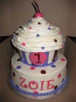 cake plus smash cake (giant sweets cupcake pans) Giant Sweets, Cakes Plus, Cupcake Pans, Cake Smash, Presents, Bike, Creative, Gifts, Bicycle