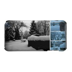 Winter Garden Photo Collage iPod Touch 5g Case   iPod Touch 5th Generation Cases