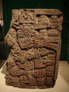 Aztec, pigment visible.