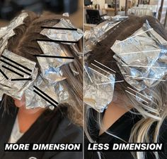 Blonde Foils, Foil Highlights, Hair Color Formulas, Hair Color Techniques, Hair Density, Hair Painting, Balayage Hair, Haircolor, Hair Hacks