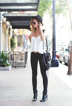 chic black boots