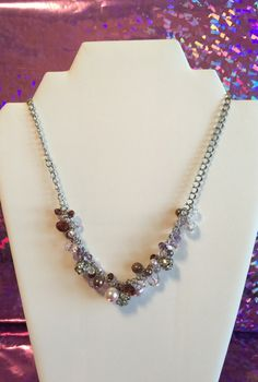 A personal favorite from my Etsy shop https://www.etsy.com/listing/289815891/brown-tones-grape-necklace-fashion-with