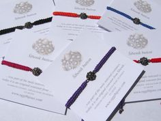 Friendship bracelets with handmade filigree silver button that has interesting story from croatian history.