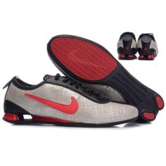 quality design 8914e fd4e0 Nike Shox R3 First Layer Of Skin Silver Red Black Men Shoes [NIKE_324] -
