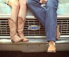 -Something bout a chevy truck, and some cowboy boots <3