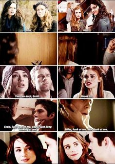 Scallison/Stydia parallels are always perfect