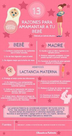 13 razones para amamantar a tu bebé :D