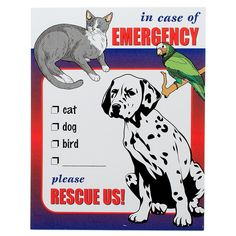 Pet Rescue Window Decals These Work The Same Way As The