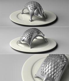 Adore this hedgehog grater.