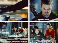 """You're making tea?"" Oliver & Felicity #Arrow"