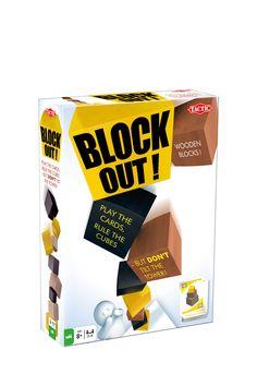 Venda Jogos e brinquedos / 31347 / Jogos de sociedade / Block out A partir dos 8 anos