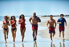 Baywatch is set on a beach that includes everything from life saving and crime solving to drink partying and tanning