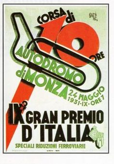Italian Grand Prix / Autodromo di Monza / 1931