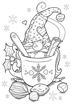 Christmas Coloring Pages To Print For Class Gift Bags Pastiche And