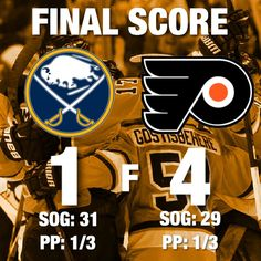 Flyers win and head into they bye week on a 3 game win streak. Game was closer than the score depicts with the Flyers netting two empty netters but it was a good effort nonetheless. Both goalies were really good. Lehner made two great saves Neuvirth made a great one as well. It wasn't the most exciting game but it was pretty fun to watch considering it was basically a 2-1 game. Coots had another big game scored 2 goals was good on the puck. One thing that makes me happy is Patrick looked…
