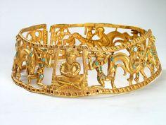 Die Schätze der Sarmatier, Das einzigartige Set aus goldenem Schmuck, das für ...  #einzigartige #goldenem #sarmatier #schatze #schmuck