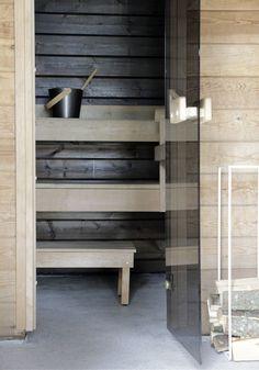 Minna Jones: Before - after sauna -------- Ennen - jälkeen sauna Wood Architecture, Saunas, Country Life, Washi, Ikea, Aquarius, House, Inspiration, Home Decor