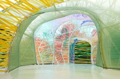 Serpentine Pavilion 2015, designed by selgascano.   Art Ruby