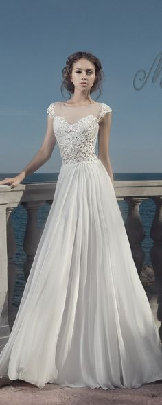 Milva Bridal Wedding Dresses 2017 Maldives / http://www.deerpearlflowers.com/milva-wedding-dresses/11/