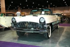 1955 Packard Caribbean.  Photography by David E. Nelson