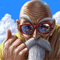 DBZ fan art | Master Roshi - Dragon Ball Z