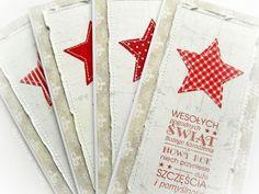 """Zestaw 4 kartek z serii """"Pierwsza Gwiazdka"""" Decoupage, Christmas Cards, Scrapbooking, Diy Crafts, Joy, Tags, Christmas E Cards, Xmas Cards, Make Your Own"""