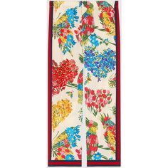 Gucci Corsage Print Silk Pajama Print (17.423.890 IDR) ❤ liked on Polyvore featuring intimates, sleepwear, pajamas, heart pajamas, pj pants, silk pj pants, silk pjs and silk pyjamas