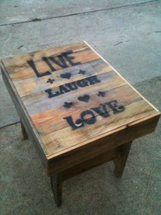 Another Pallet Table - by Cozmo35 @ LumberJocks.com ~ woodworking community