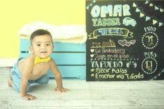 9 meses  Sesión mes a mes Baby photography