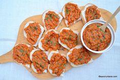 Zacusca de vinete - reteta mamei mele savori urbane 1 Romanian Food, Romanian Recipes, Food Obsession, Tandoori Chicken, Curry, Appetizers, Canning, Ethnic Recipes, Mai