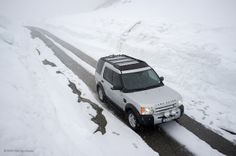 Land Rover Discovery 3 in Norway - ProSpeed roof rack