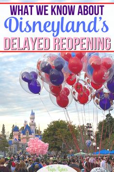 Disneyland's planned July 17, 2020 reopening has been delayed! All the details about the current opening timeline and planning advice for Disneyland travelers with summer vacations. Disneyland Tips, Disneyland California, Disneyland Resort, California Travel, All Disney Parks, Disney Tips, Disney Vacations, Summer Vacations, Disney California Adventure Park