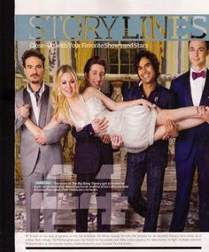 Johnny Galecki, Simon Helberg, Kunal Nayyar Jim Parsons and Kaley Cuoco | Big Bang Theory   |