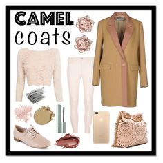 """#camelcoat pink and camel"" by bellesandbeaus ❤ liked on Polyvore featuring Dorothy Perkins, Mauro Grifoni, Clarks, Urban Decay, Coast, STELLA McCARTNEY, Bare Escentuals, Anastasia Beverly Hills, Bobbi Brown Cosmetics and Too Faced Cosmetics"