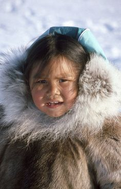 III.1: INUIT ОДЕЖДА / ПРИЮТ 1. Зимняя одежда ~ Люди Арктики Джон Tyman