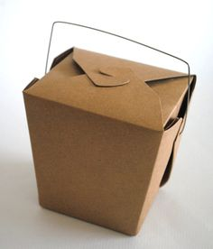 Kraft Brown Chinese Takeout Boxes