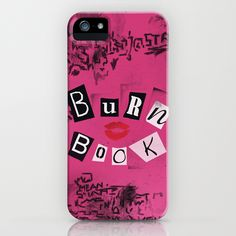 The Burn Book - Mean Girls movie - **Must order NOW for Christmas, or it will be late!!!** iPhone Case