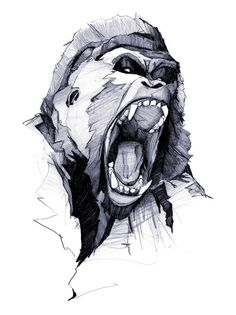 Wild Rage Art Print