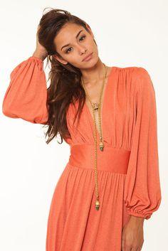 Image of American Hustle Orange Dress American Hustle, Orange Dress, Vintage Fashion, Tunic Tops, Culture, Image, Dresses, Women, Vestidos