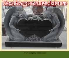 double grave black granite headstones $200~$2000