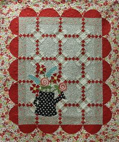 Watering Can quilt....