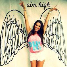 Aim high. Pi beta phi