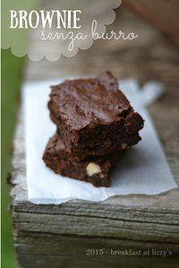 Brownie senza burro