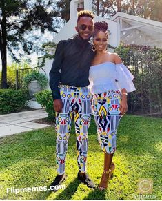 Latest South Africa Shweshwe Dresses Fashion In 2020 Couples African Outfits, Latest African Fashion Dresses, African Dresses For Women, African Print Fashion, African Traditional Wedding Dress, Traditional African Clothing, Traditional Outfits, Venda Traditional Attire, Xhosa Attire